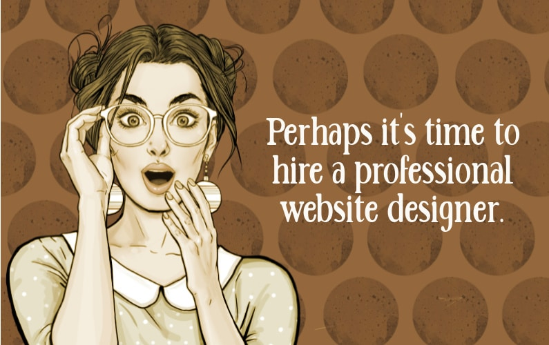 Why should I hire a professional website designer for my Holistic Health Business?