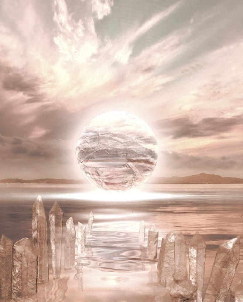 spiritual crystals website design